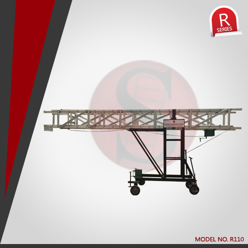 Titable Tower Extension Ladder with Degree Variation