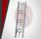 Wall Supported Extenable Ladder