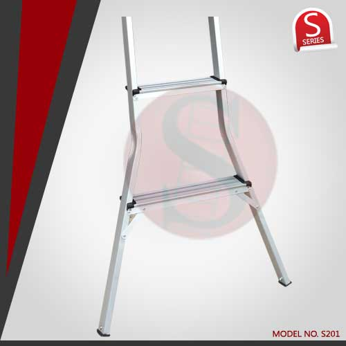 Aluminium Wall Support Ladder (Domestic Usage)